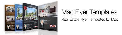 How To Make Flyers On Mac About Mac Flyer Templates For Real Estate