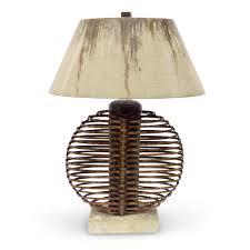 palecek lighting. Description. IKEBANA SPHERE LAMP Palecek Lighting