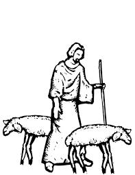 Kleurennu Herder Met Schapen Kleurplaten