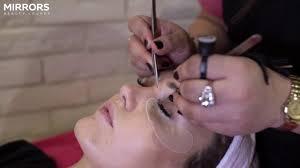 eyelash extensions in dubai mirrors