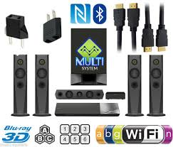 home theater wireless. sony bdvn7200 home theater system with wireless speakers 2k/4k nfc sa-cd multi zone all region