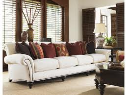 Tommy Bahama Living Room Furniture Tommy Bahama Home Royal Kahala Edgewater Rolled Arm Extended Sofa