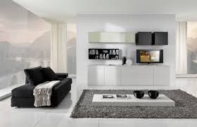 white living room furniture throughout