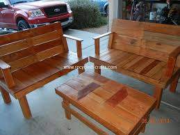 wood pallet patio furniture. Wood Pallet Patio Furniture Plans Recycled Things