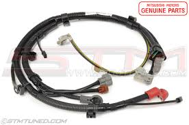 stm oem mitsubishi battery cable positive wiring harness 2000 mitsubishi eclipse engine wiring harness at Mitsubishi Wiring Harness