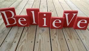 believe blocks believe block letters holiday rustic
