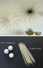 diy boom wall sculpture pic for 36 diy wall art ideas for living room