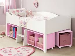 I love this cabin bed with wheelie storage underneath - we have such a small  space in girlchild's room this would really work.