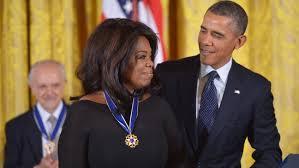Barack Obama Presents Oprah Winfrey With Medal of Freedom