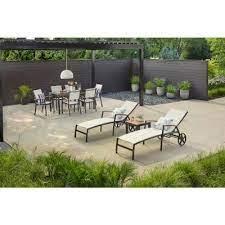 aluminum patio outdoor patio dining set