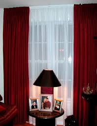 Creative Modern Red Curtain Ideas And Designs To Inspire YouRed Curtain Ideas For Living Room