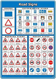 Road Signs Chart India Road Sign Chart India Amazon Co Uk 9788173013362 Books
