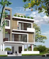 exterior incredible large modern indian home design plan using