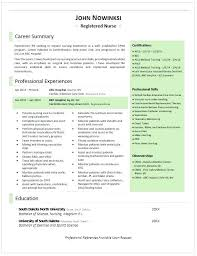 Rn Resume Sample Canada Examples Experienced Nurse Nursing Student