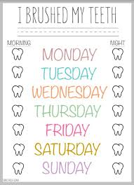 These basically contain different colour. 13 How To Brush Your Teeth Activities Printables Tip Junkie