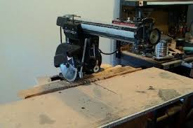 craftsman radial arm saw. introduction: setting up a radial arm saw craftsman t