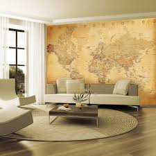 large world map for wall