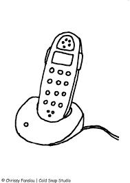 Disegno Da Colorare Telefono Cat 7367 Images