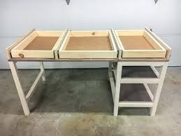 how to build a desk with drawers how to install drawers on a desk diy rustic