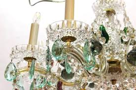 maria theresa chandelier mid century maria chandelier with fruit crystals maria theresa 13 light chandelier instructions