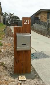modern mailbox ideas. Ideas Custom Mailbox Modern Envelope Wood  Dwell Post 92 Best Letterboxes Images On Pinterest Modern Mailbox Ideas
