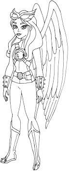 Dc Superhero Girls Super Hero Coloring Page Thanhhoacarcom