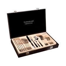 gastro 24 piece cutlery set by tipperary crystal