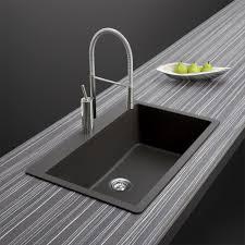Houzer 33 Granite Topmount Kitchen Sink Black V 100 Midnite The