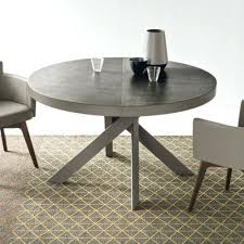 creative idea round expanding dining table bontempi barone extending go modern furniture