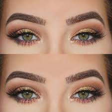 eye makeup for green