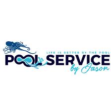 pool service logo. PBJ Pool / Service By Jason Logo S