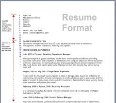 Resumes Formats Beauteous Download Resume Format Amp Write The Best Resume Resumes Formats