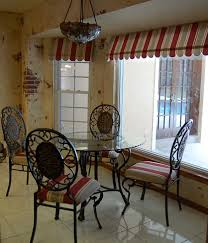 Kitchen Window Dressing Simple Cafe Curtains Martha Stewart Accents Details Love How