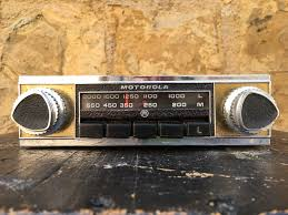 motorola car radios. motorola model 010 car radios u