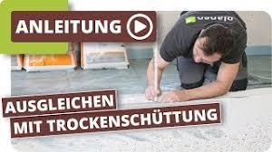 Granulate werden meist zur tablettierung oder zum füllen von kapseln verwendet. Boden Ausgleichen Mit Trockenschuttung Und Trockenestrich Platten Verlegen Youtube