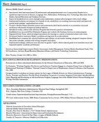 Awesome An Effective Sample Of Assistant Principal Resume Resume