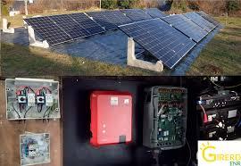Installation solaire photovoltaïque avec batteries pour une autonomie de  70% by GIRERD EnR - Girerd ENR