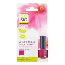 Lak Na Nehty 09 Růžová 10 Ml Sobio étic Přírodní Kosmetika