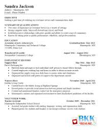 Customer Service Resume Objective Templates For Airl Sevte