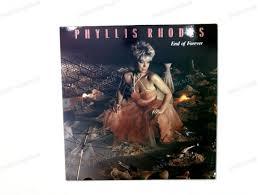 Phyllis Rhodes - End Of Forever GER LP 1986 ' | eBay
