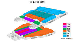 Worcester The Hanover Theatre Seating Chart English Shen