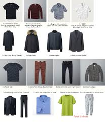 guidecompact wardrobe for college age men