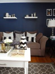 baby nursery interesting dark blue accent wall living room images about bleu le feu des