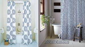 half shower curtain bathroom designer shower curtain rods half shower curtain for