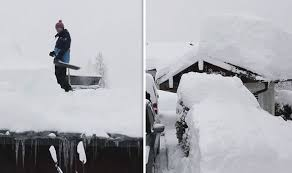 Europe Weather Germany Cut Off By Heavy Snow In