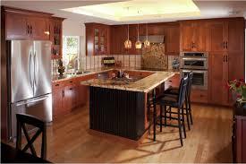 Mission Style Cabinets Kitchen Kitchen Backsplash Ideas With Cherry Cabinets Cottage Basement