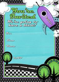 Birthday Party Invitation Card Template Free 41 Printable Birthday Party Cards Invitations For Kids To Make