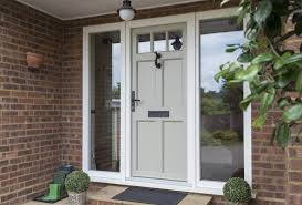 upvc entrance doors with double glazing