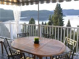 villa sur le fjord