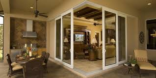 these sliding glass doors share all the benefits of our other vinyl and aluminum doors but with multi panel multi track by pass pocket or corner